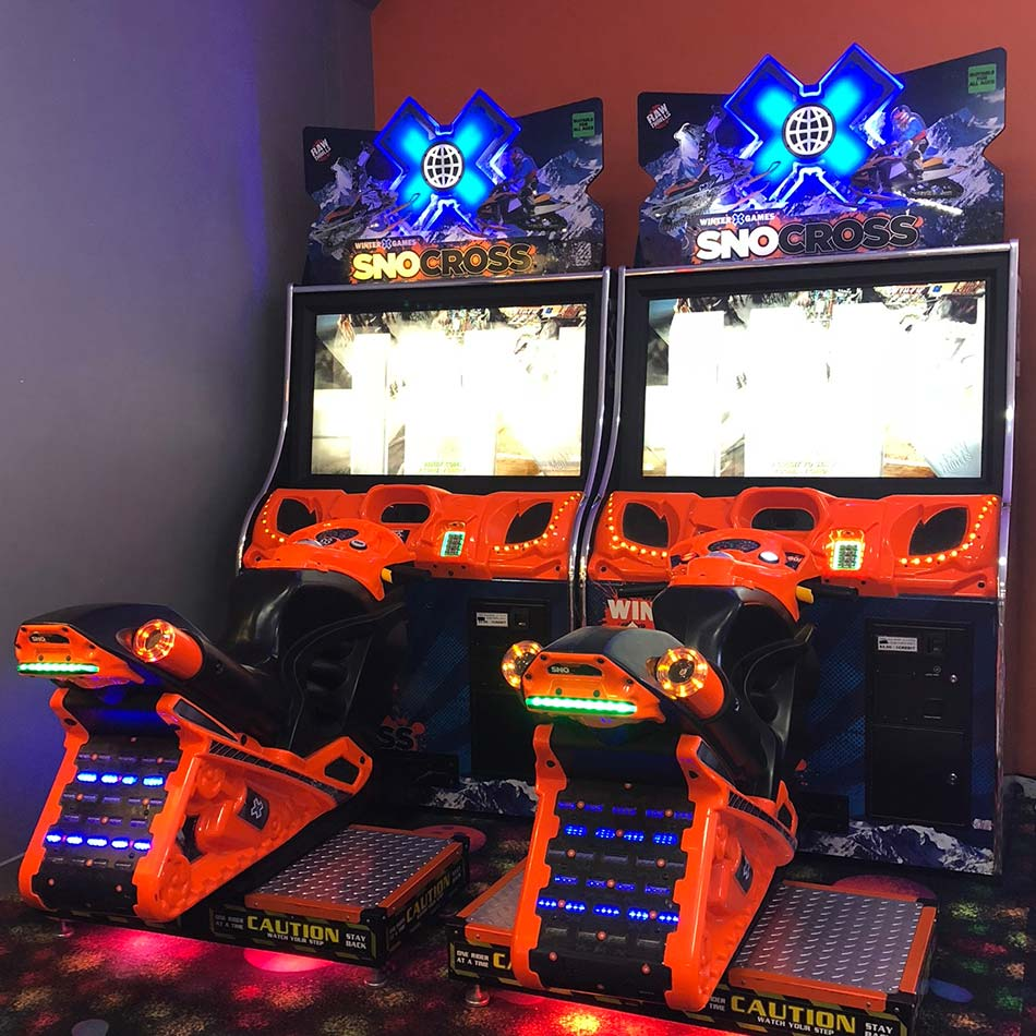 snocross arcade game