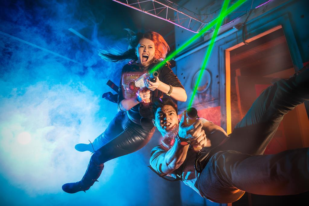 Laser tag New Plymouth