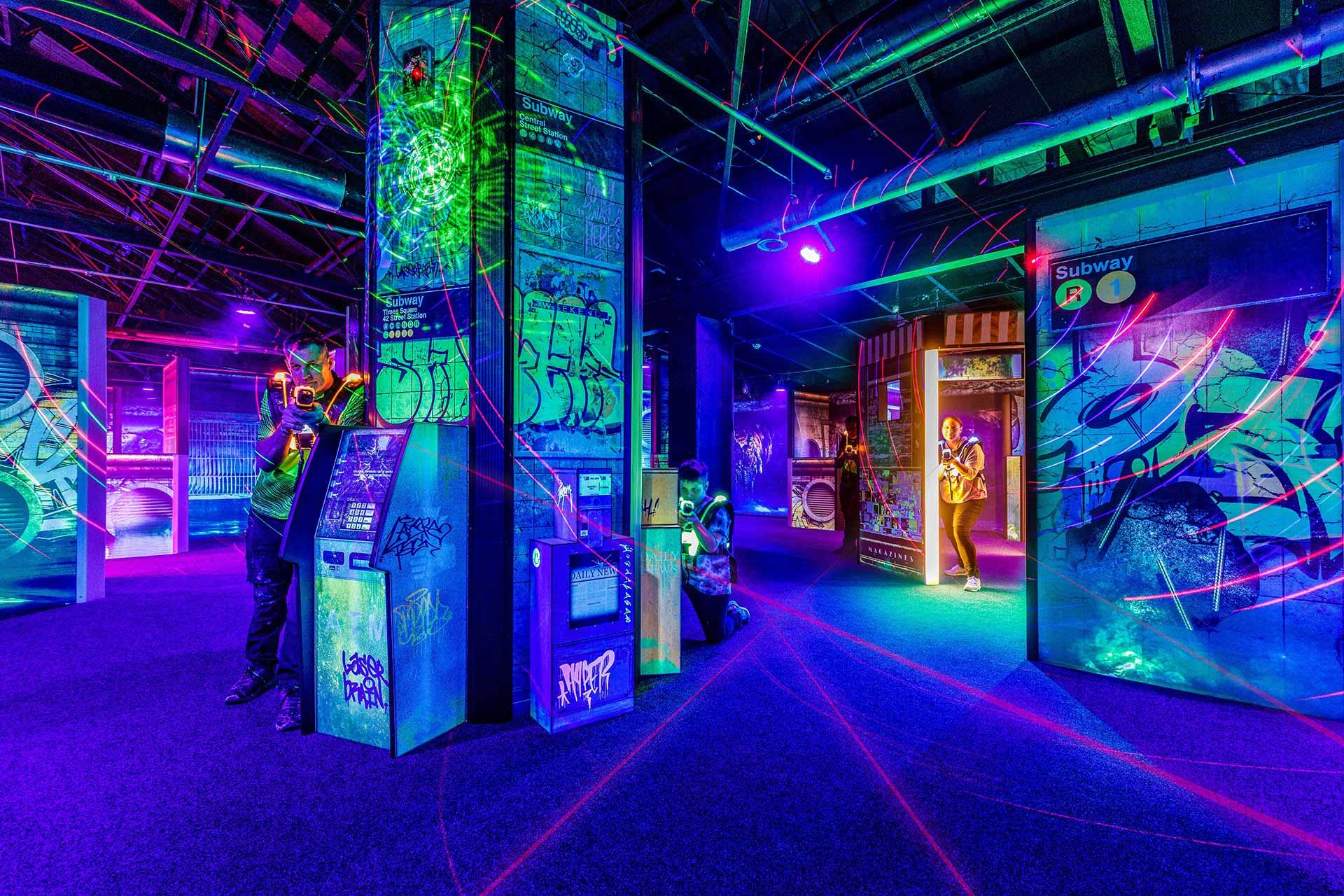 bowlarama laser tag